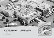 SPEEDROLLER SERVICE MANUAL - Novoferm