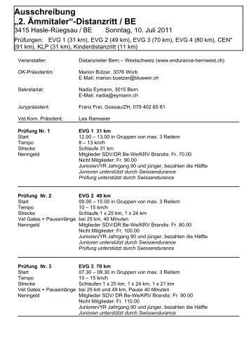 Name der Veranstaltung - bei swissendurance.ch!