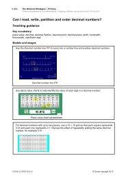 Decimal numbers - Wirral Learning Grid