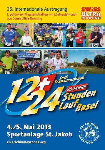 4./5. Mai 2013 Sportanlage St. Jakob 4./5. Mai 2013 Sportanlage St ...