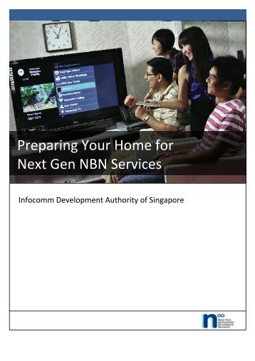 Preparing Your Home for Next Gen NBN Services - IDA Singapore