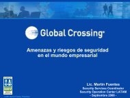 Martín Fuentes- Security Services Coordinetor ... - CICOMRA