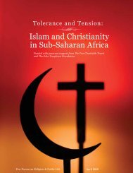 Islam and Christianity in Sub-Saharan Africa