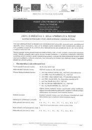 Zápis z 2. kola výběrových řízení - Fakulta stavební - Vysoké učení ...