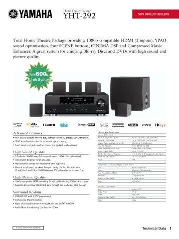 Yamaha YHT-292 - Sound Group Holdings
