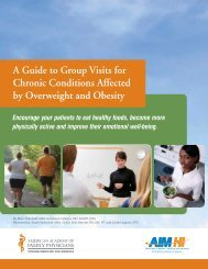 A Guide to Group Visits for Chronic Conditions Affected by ...