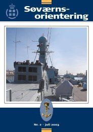 Søværnsorientering nr. 2 / 2003 - Marinehistorisk Selskab og ...