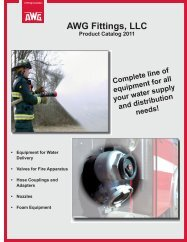 AWG Fittings, LLC - 5 Alarm Fire and Safety Equipment