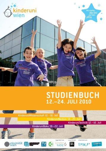 Studienbuch der KinderuniWien 2010