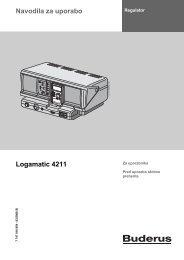 Navodila regulator R4211 - Buderus