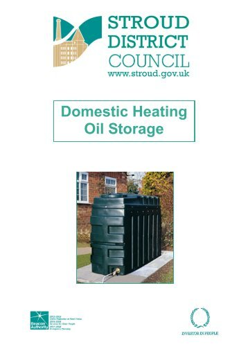 Domestic Heating Oil Storage.pub - Stroud District Council