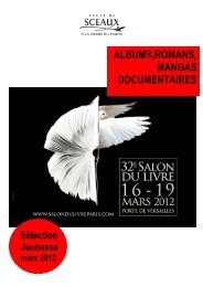 Salon du livre - J. - Bibliothèque municiaple de Sceaux