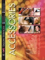 2012 CATALOG - Salon Services & Supplies