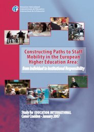 [2007] Constructing Paths to Staff Mobility in the European Higher ...