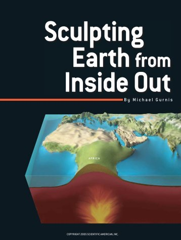 Sculpting Earth from Inside Out - FSU High Energy Physics