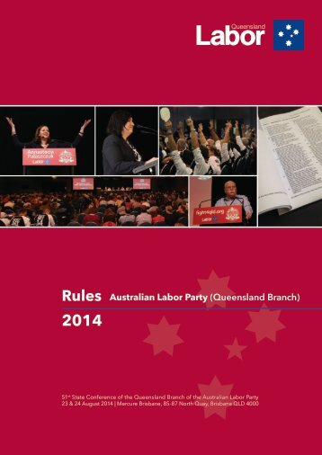 2014-Qld-ALP-Rule-Book-Final