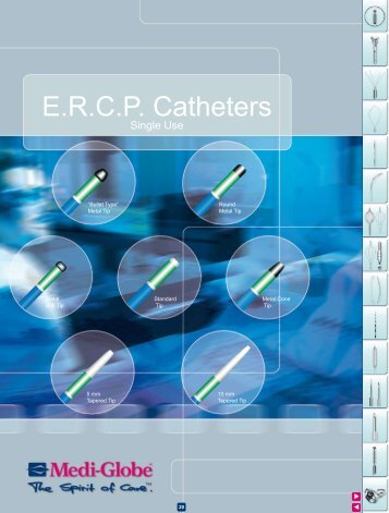 E.R.C.P. Catheters