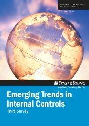 Emerging Trends in Internal Controls