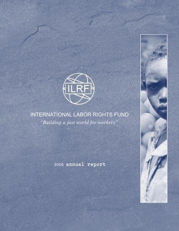 international labor rights fund - International Labor Rights Forum