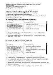 3 - Staatliches Seminar Albstadt
