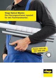Prospekt Viega Viptool Master