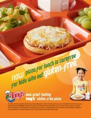 New Great-tasting Tony's Gluten-free pizza - National Foundation for ...