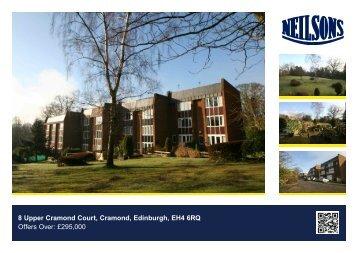 8 Upper Cramond Court, Cramond, Edinburgh, EH4 6RQ Offers Over