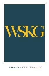 annual report 2012 - WSKG
