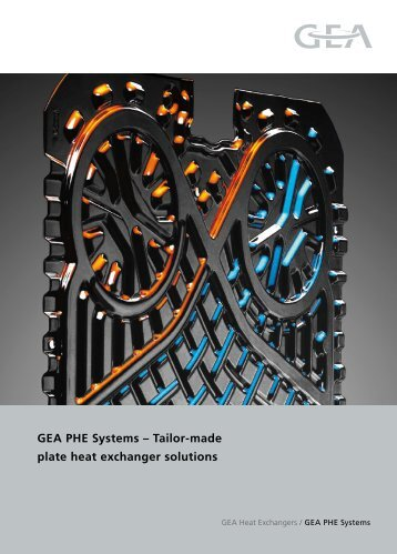 GEA PHE Systems – Tailor-made plate heat exchanger solutions