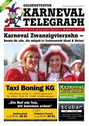 Goldenstedter Karneval Telegraph 2014 - Marktkulisse