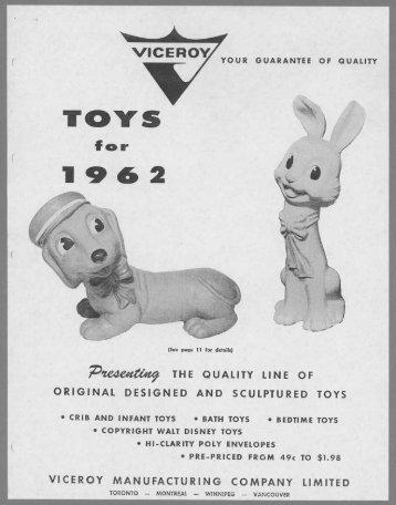 Toys - 1962 PDF download