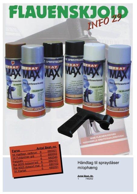 spraymax farvehandlere(uden pris).indd - C. Flauenskjold A/S