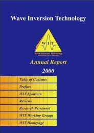 Annual Report 2000 - WIT