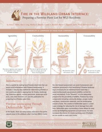 fire wildland term paper Cdc - national occupational research agenda (nora): public safety sector,  wildland fire, niosh.