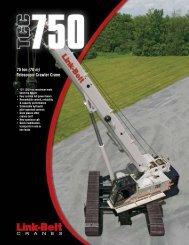 Telescopic Crawler Crane - Kelly Tractor