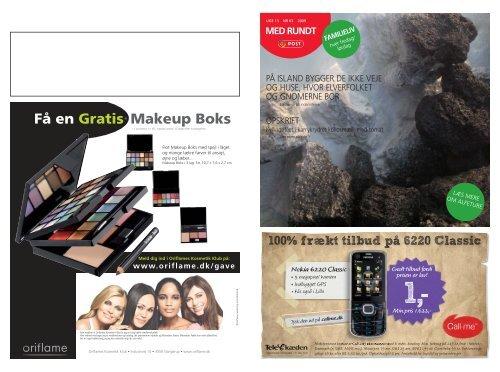 Få en Gratis* Makeup Boks - MEDRUNDTonline