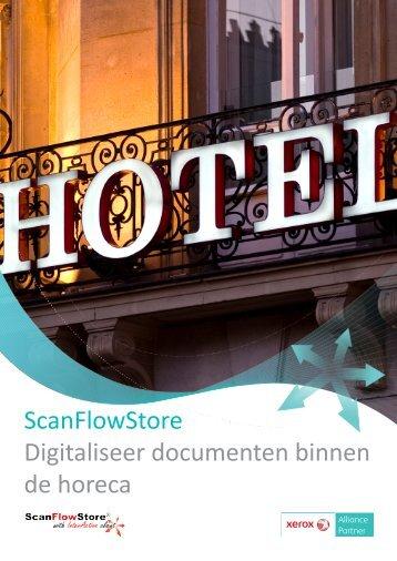ScanFlowStore Digitaliseer documenten binnen de horeca