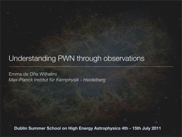 Pulsar Wind Nebulae - DIAS