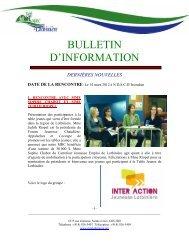 2012-03-14 - MRC Lotbinière