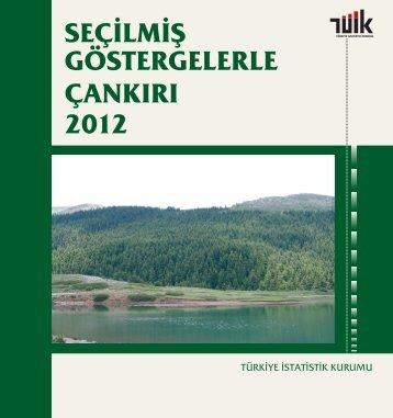 ÇANKIRI - Türkiye İstatistik Kurumu