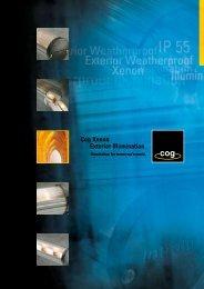 Cog Xenon Exterior Illumination - Mark Herring Lighting