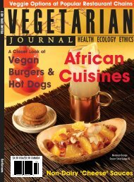 African Cuisine - The Vegetarian Resource Group