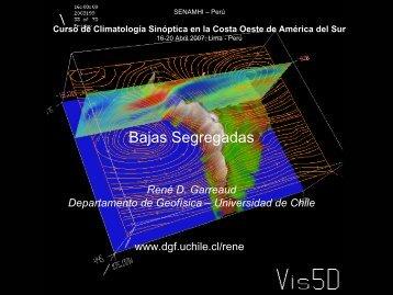 Bajas Segregada - Departamento de Geofísica - Universidad de Chile