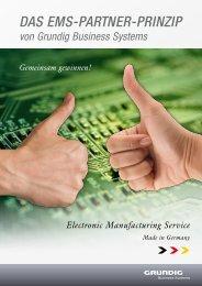 DAS EMS-PARTNER-PRINZIP - (EMS) - Grundig Business Systems