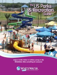 Parks and Recreation Brochure - White Water West