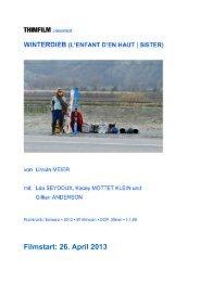 WINTERDIEB – Presseheft - Thimfilm