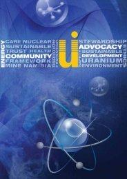 Untitled - The Chamber of Mines Uranium Institute