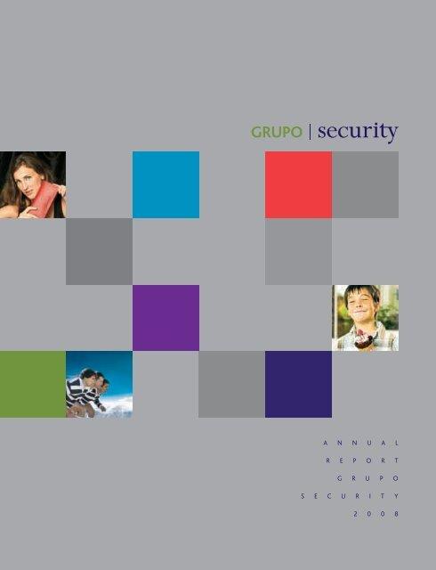 A N N U A L R E P O R T G R U P O S E C U R I T Y ... - Banco Security
