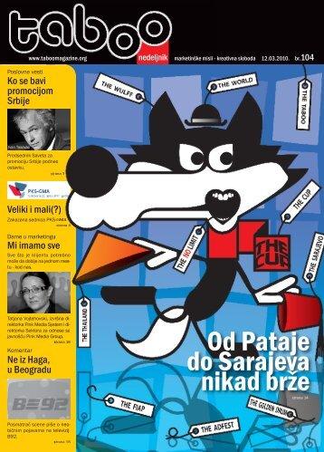 BROJ 104 (.pdf) - Taboo