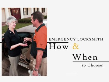 24 Hr Emergency Locksmith St. Louis – Tips to Choose!